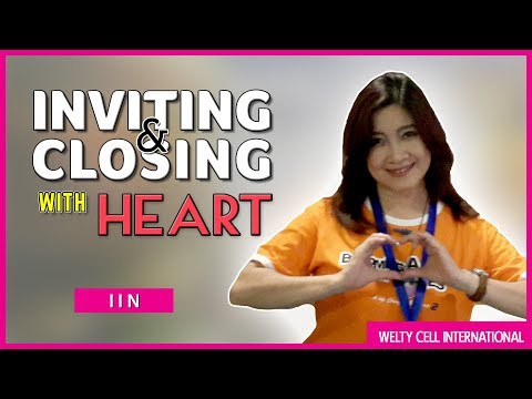Inviting & Closing With Heart | Iin