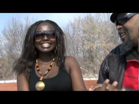 African woman by Innocent Galinoma (African Roots Reggae)