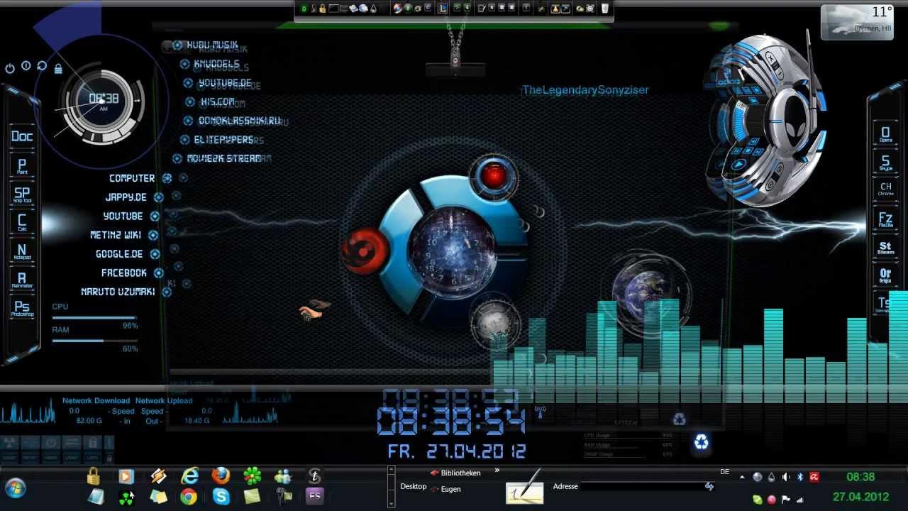audio visualizer wallpaper