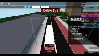 ROBLOX - [CSG] Canterbury Bus Simulator - Route 14 to Sturry West Tesco in Wright Ecipse Metro