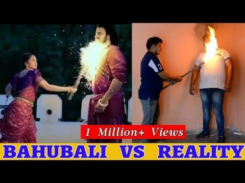 Bahubali 2 Spoof | Bahubali VS Reality |...