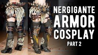 Nergigante Armor Cosplay Pt.2 - Monster Hunter World
