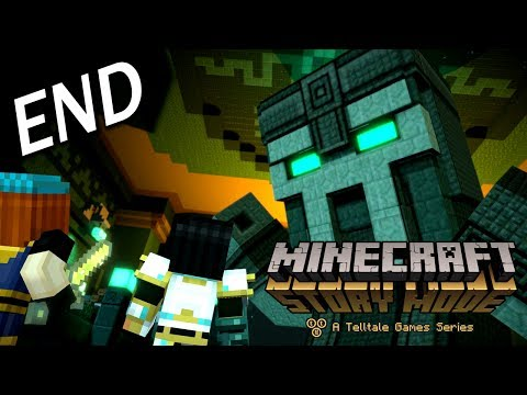 Minecraft: Story Mode - Season Two Episode 1 Ending - 巨人管理者