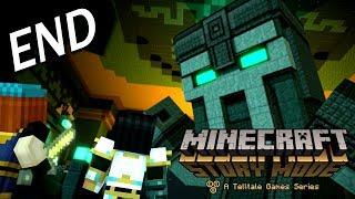 Minecraft: Story Mode - Season Two Episode 1 Ending - 巨人管理者