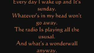 Green Day vs Oasis Boulevard of Broken Dreams Lyrics