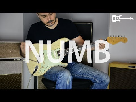 Linkin Park - Numb - Electric Guitar Cover by Kfir Ochaion