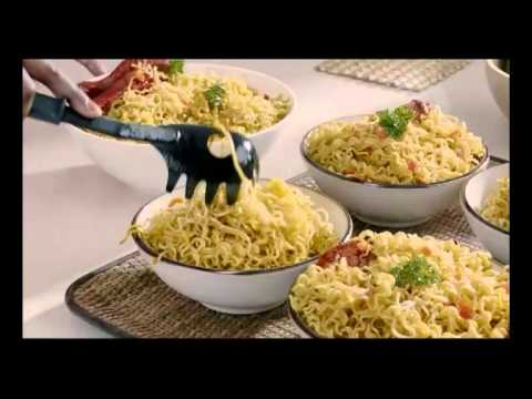 Indomie Instant noodles Hausa Advertisement