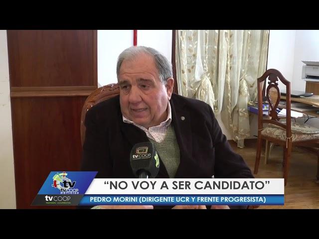 Morini no será candidato en 2021