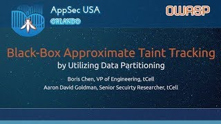 Black Box Approximate Taint Tracking By Utilizing Data Partitioning Appsecusa 2017 Youtube Facebook gives people the power to share and makes the world. youtube
