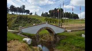Puente de Boyaca,monumento al libertador