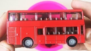 Cars for kids, Toys review and learning name and sounds School Bus, Taxi, Police Car, Ambulance toys
