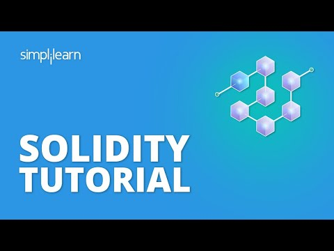 Solidity Tutorial | Solidity For Beginners | Blockchain Tutorial For Beginners | Simplilearn