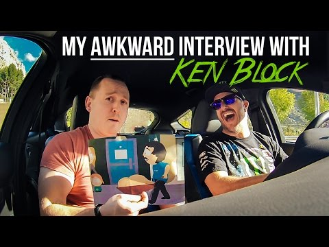 My Awkward Interview With Ken Block