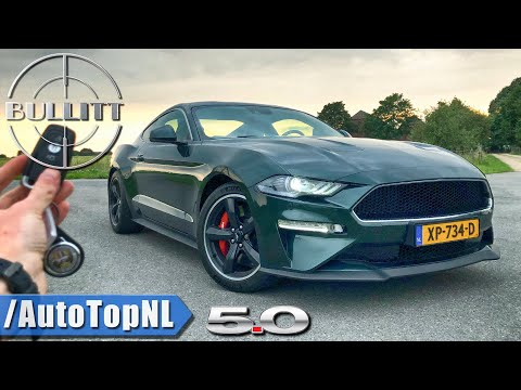 2020 FORD MUSTANG BULLITT – REVIEW POV Test Drive on AUTOBAHN & ROAD by AutoTopNL
