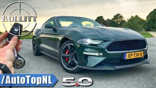 2020 FORD MUSTANG BULLITT - REVIEW POV Test Drive on AUTOBAHN & ROAD by AutoTopNL