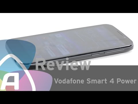 Vodafone Smart 4 Power review (Dutch)