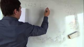 Математика 6 класс. 5 сентября. Деление с остатком