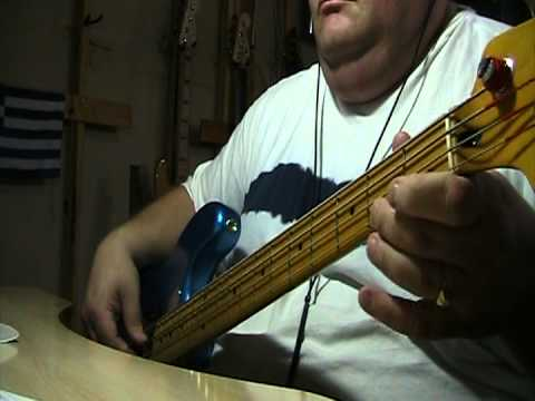 The Band The Weight (Take A Load Of Fanny) Bass Cover with Notes & Tablature