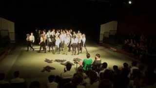 Moffat - Aretha Franklin Respect - Eltham College House Music Competition 2013