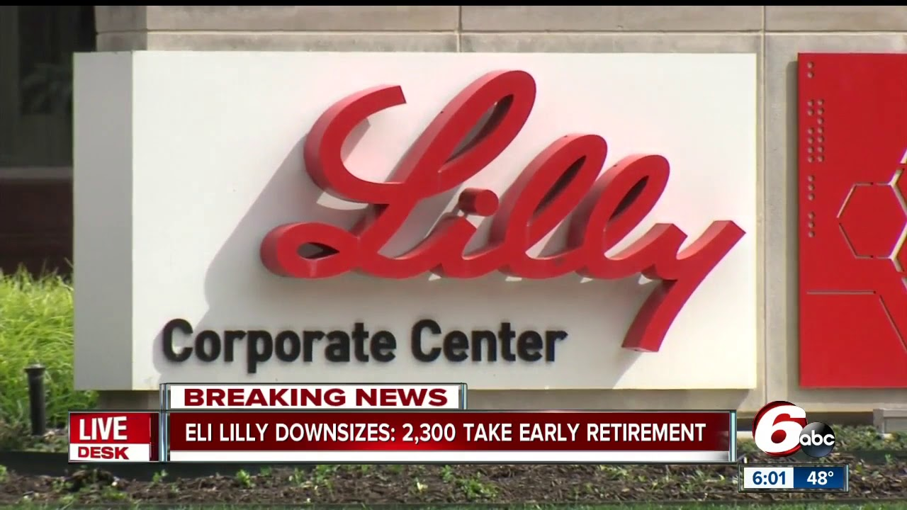 2,300 Eli Lilly employees accept buyout as company cuts 3,500 jobs