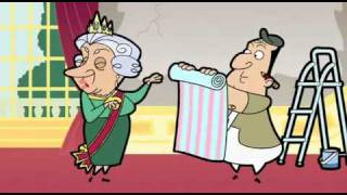 "Mr Bean: cartoon ""A Royal Makeover"" (1/2)  Part 44/47"
