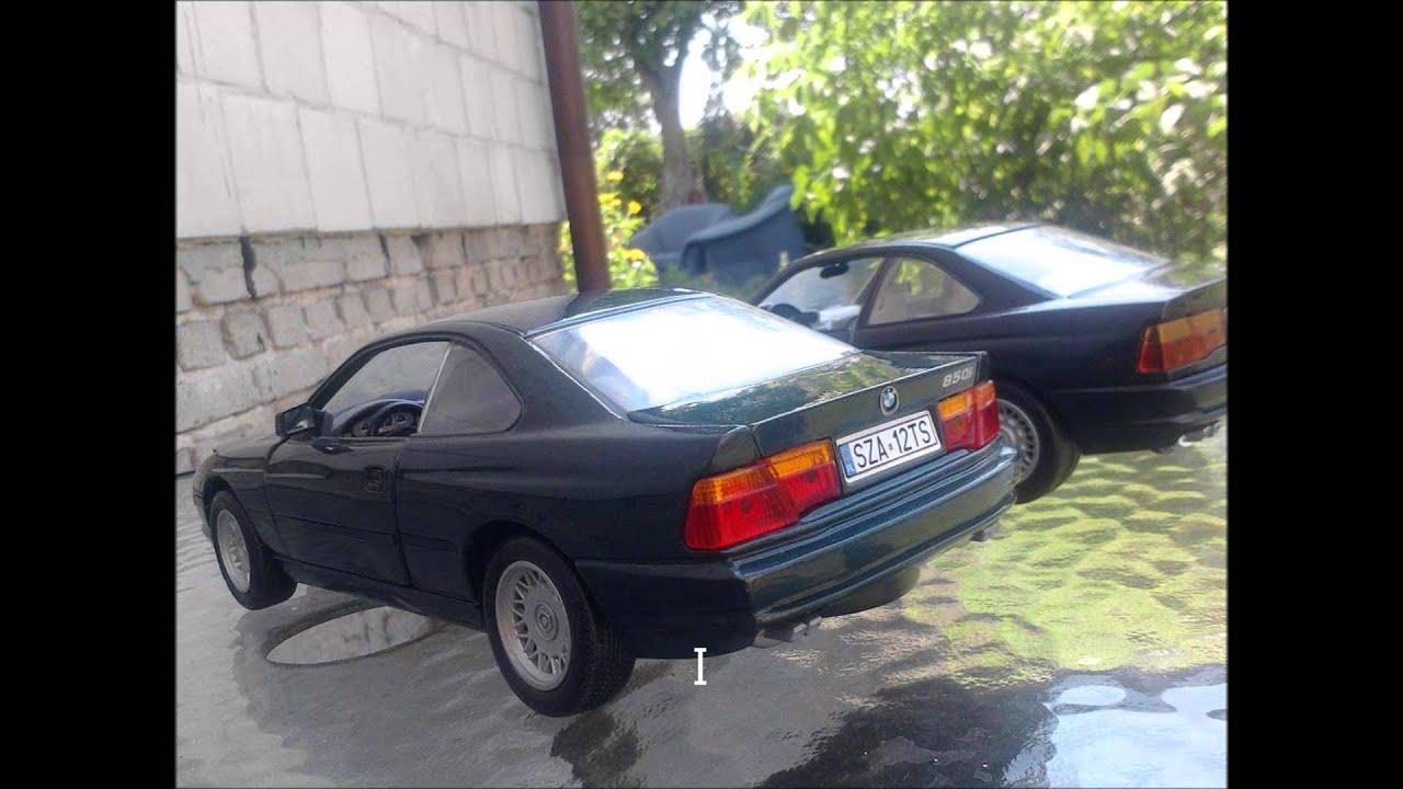 Modele BMW w skali 1 18 - YouTube