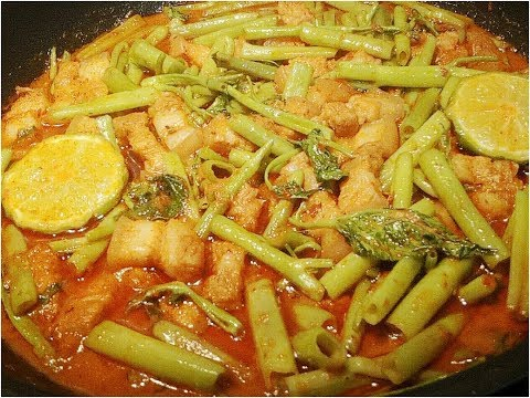 แกงเทโพพร้อมเคล็ดลับทำให้ผักบุ้งไม่ดำทำกินได้ไม่ยากอร่อยด้วย