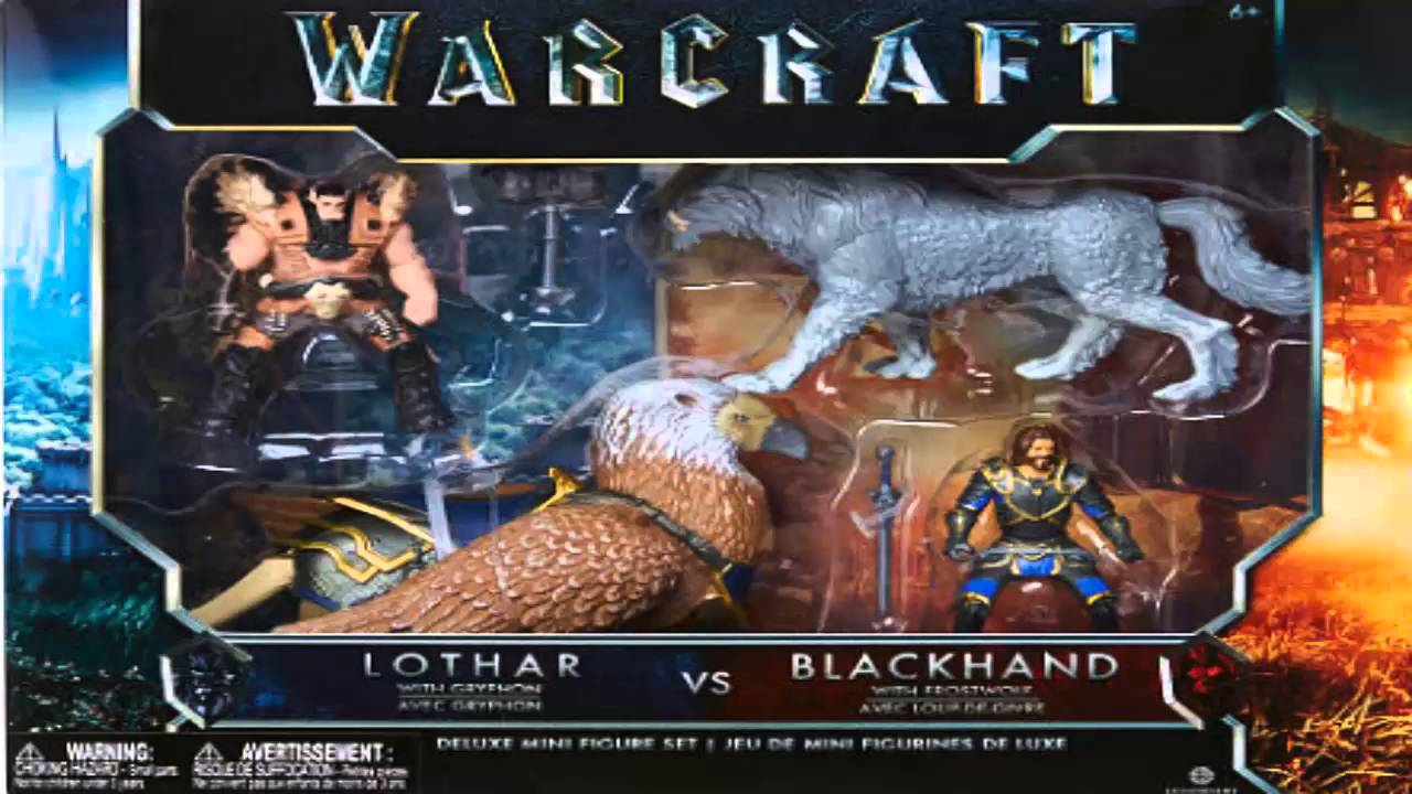 The Warcraft Movie Toys are Here! - YouTube