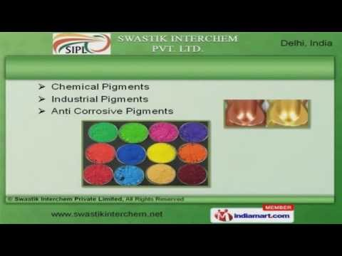 Chemical Pigments & Resin by Swastik Interchem Private Limited