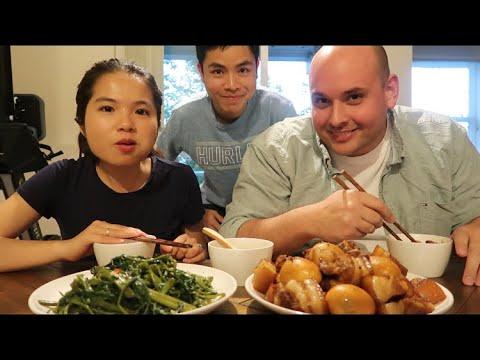 Vlog 383| Thịt Kho Trứng.Rau Muống Xào Tỏi.Đơn Giản Mà Tốn Cơm