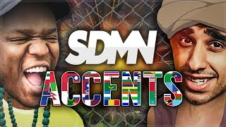 THE SIDEMEN ARE BAD AT ACCENTS...
