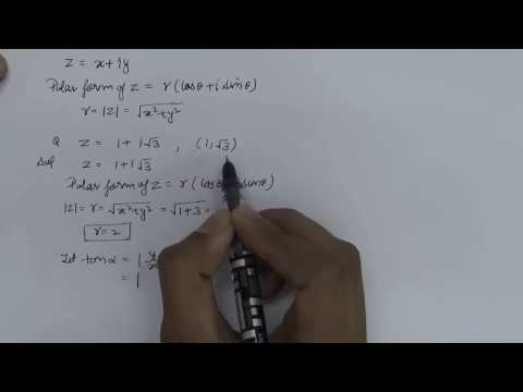 How To Find Polar Form of Complex Numbers (Hindi) Part - 1 | NCERT 11 Class Maths