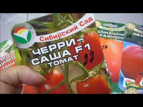Выбираем томаты на новый сезон.Знакомьтесь-фирма Сибирский сад,небольшой обзор .