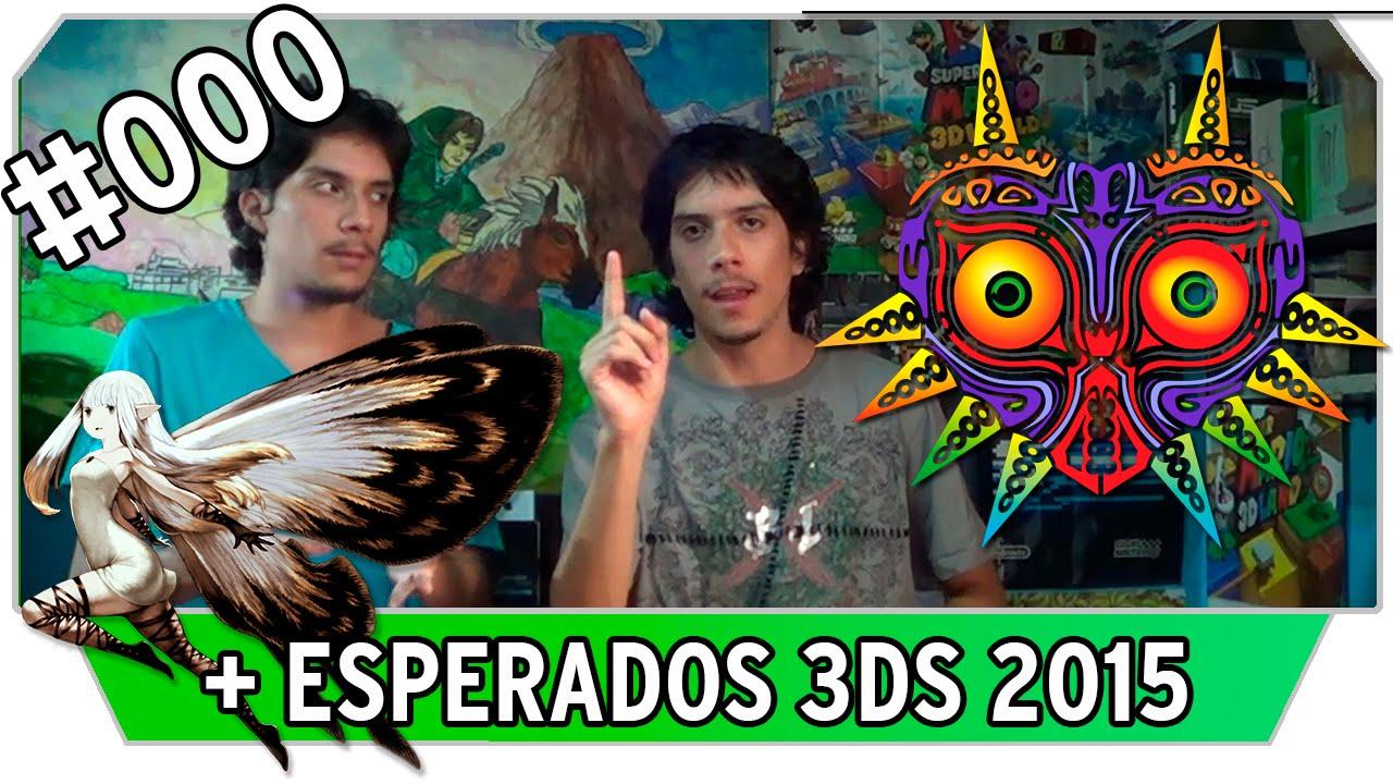 Top 10 Juegos Más Esperados Nintendo 3ds 2015 Vlog 000
