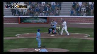 MLB 13 The Show - Montreal Expos vs Chicago Cubs