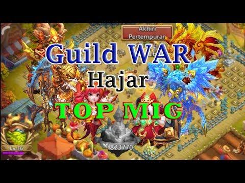 Castle Clash | Guild War | Hajar Top Might