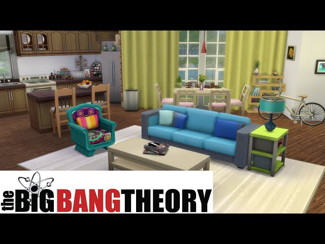The Big Bang Theory - Penny's apartment | The Sims 4 - House Building | no cc |