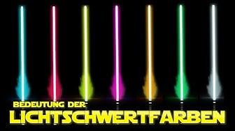 Star Wars: Alle LICHTSCHWERTFARBEN und ihre Bedeutung - Star Wars Basis