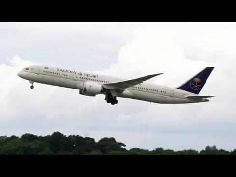 Saudi Airline SV-801 Takeoff From Multan international Airport.