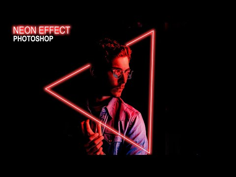 How To Create Neon Effect In Photoshop | Photoshop Tutorial thumbnail