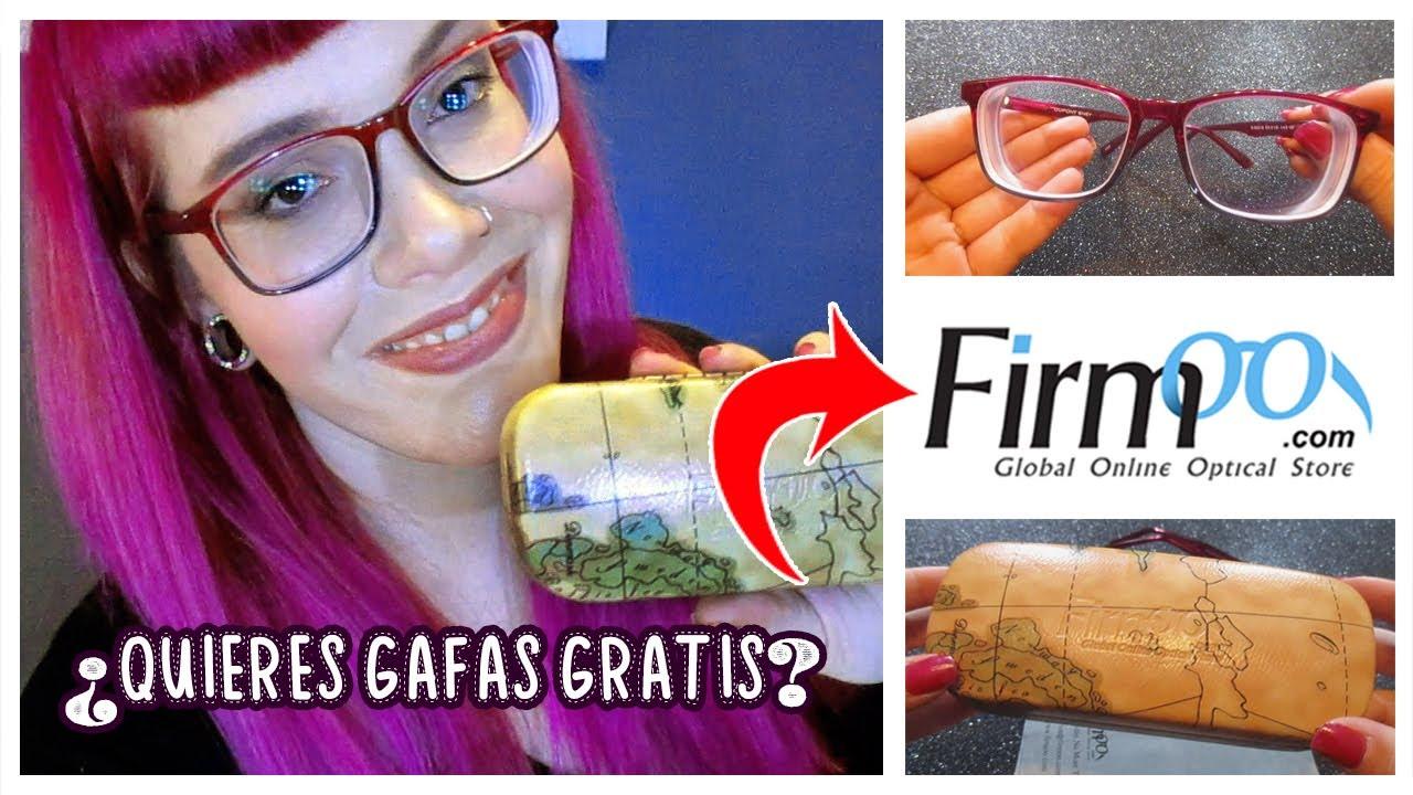 c0d59f29bd TENGO MUCHA MIOPÍA + TUS GAFAS GRATIS GRADUADAS con FIRMOO (global online  optical store) REVIEW