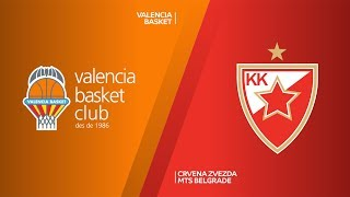 Valencia Basket - Crvena Zvezda mts Belgrade Highlights | 7DAYS EuroCup, T16 Round 3