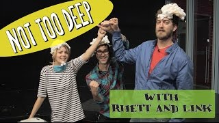 NOT TOO DEEP with RHETT AND LINK // Grace Helbig