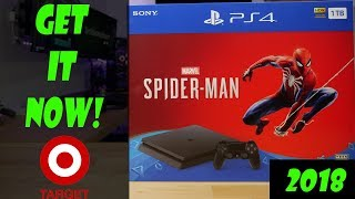 PS4 Spiderman Bundle Available at Target NOW!! - TSB Vlog