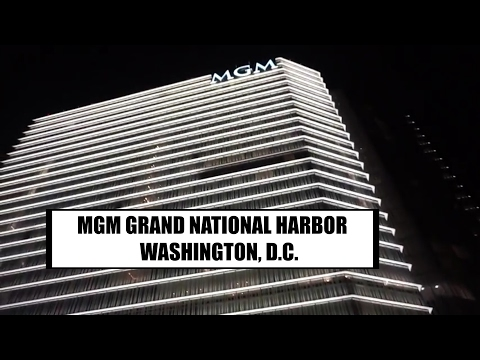 MGM GRAND NATIONAL HARBOR IN WASHINGTON DC!!!  (KB&FAMILY)
