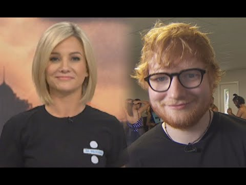 'Sucking up to Ed Sheeran' -Hayley Holt sports Ed Sheeran t-shirt after criticising Dunedin mural
