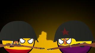 Countryballs История Испанской Гражданской войны Spanish Civil War 1936 1939 Animated