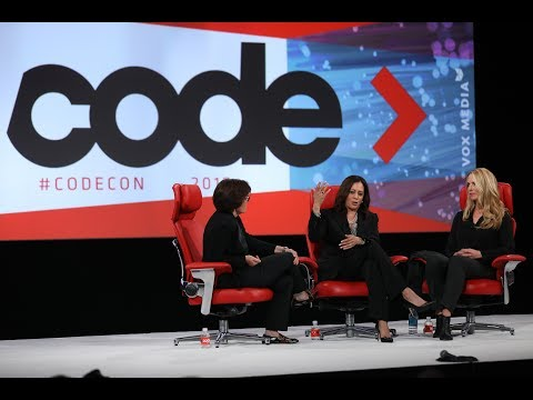 Full interview: U.S. Senator Kamala Harris and philanthropist Laurene Powell Jobs | Code 2017