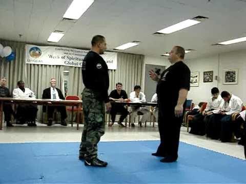Systema russian Martial Art Mikhail Rybko in UN 2007