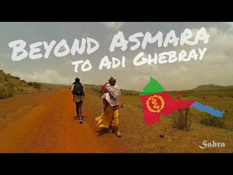 Eritrea 2018: Trip from Asmara to Adi Ghebray (GoPro Travel Vlog)